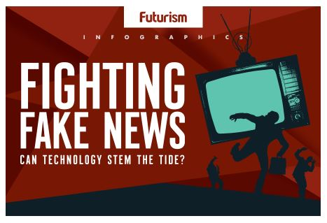 Fighting Fake News Infographic
